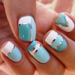 French Tip Nail Art Ideas 12