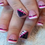 French Tip Nail Art Ideas 4