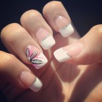 French Tip Nail Art Ideas 9