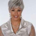 Hairstyles For Grey Hair photo