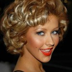 Hairstyles For Short Curly Hair Image-1