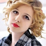 Hairstyles For Short Curly Hair Photo-1