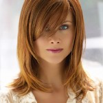 Layered Hairstyles With Bangs 12