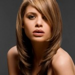 Layered Hairstyles With Bangs 8
