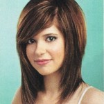 Layered Hairstyles With Bangs 9