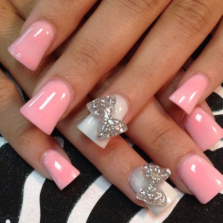 Light pink nail designs 6 inkcloth prinsesfo Image collections