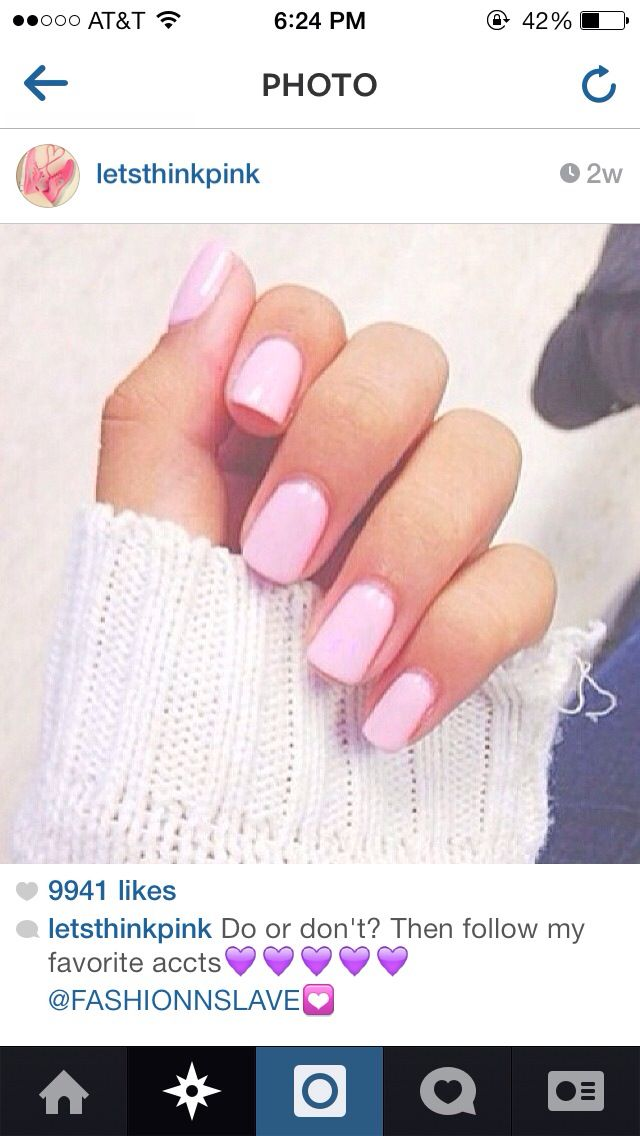 Light Pink Nail Ideas Inkcloth