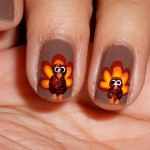 Nail Art Ideas For Thanksgiving 2