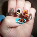 Nail Art Ideas For Thanksgiving 5