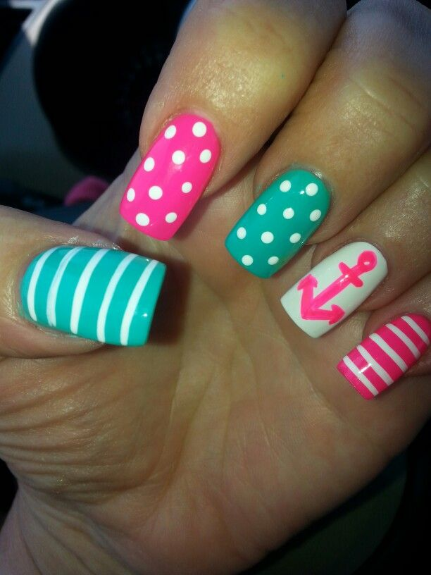 Nail ideas for summer 5 inkcloth prinsesfo Image collections