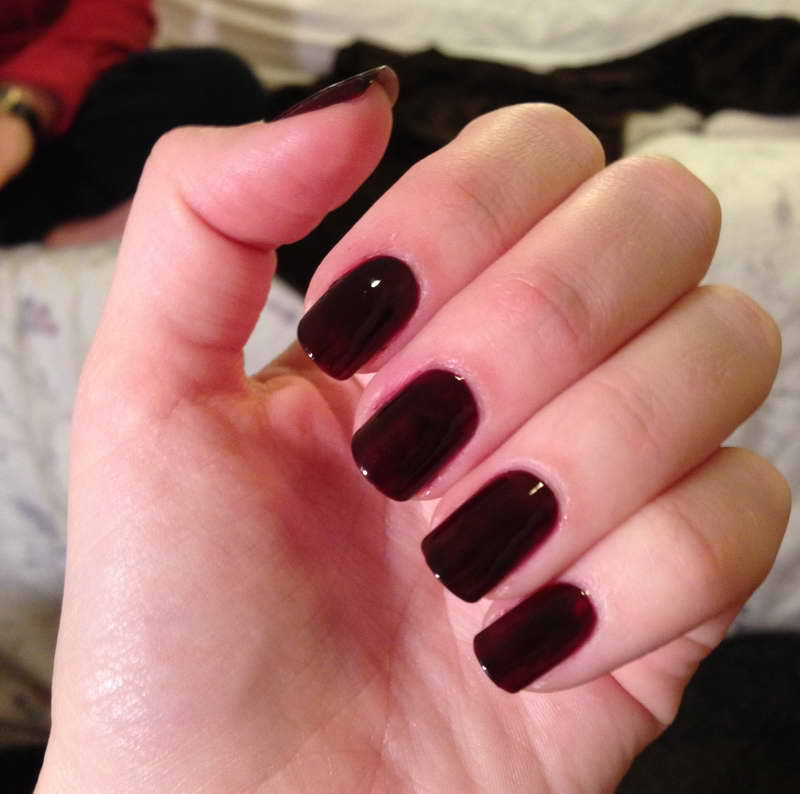 24 incredible Dark Colored Nails – ledufa.com