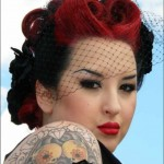 Pin Up Girl Hairstyles 11