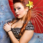 Pin Up Girl Hairstyles 15