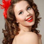 Pin Up Girl Hairstyles 8