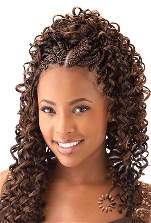 Long Hairstyles Spiral Curls Black Woman Long Hairstyles