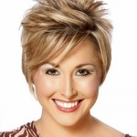 Short Spikey Hairstyles For Women Image