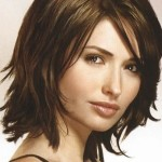 Shoulder Length Layered Hairstyles 12