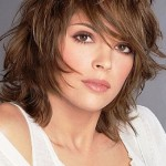 Shoulder Length Layered Hairstyles 9