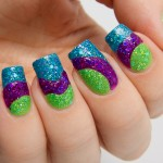 Summer Nails Art Photo