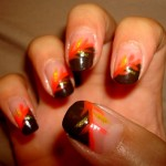 Thanksgiving Nail Art Ideas Picture