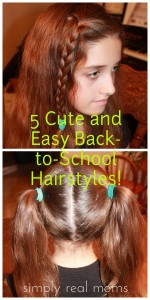Cute And Easy Hairstyles For School Picture
