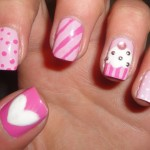 Easy Design For Nails Photo