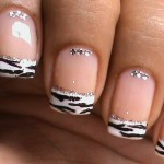 Easy French Manicure for 2014