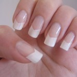 Easy French Manicure Photo