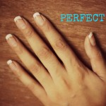 Easy French Manicure Style-1