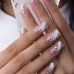 French Manicure Art Picture