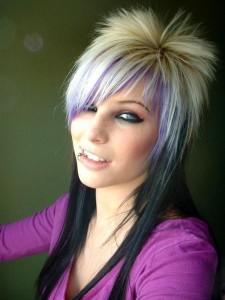 Funky Short Hairstyles Image