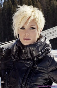 Funky Short Hairstyles Photo
