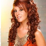Hairstyles For Long Curly Hair Photo