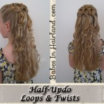 Half Up Half Down Prom Hairstyles for 2014