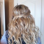 Half Up Half Down Prom Hairstyles for Winter Season