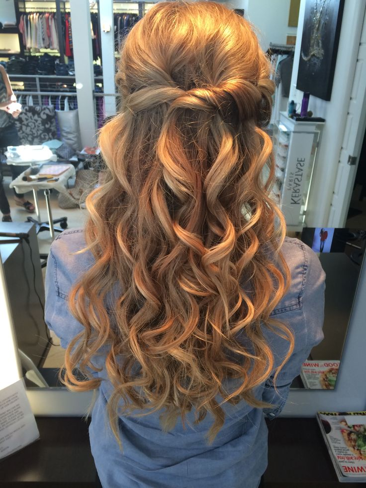 Half Up Down Wedding Hairstyle For 2016