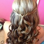 Half Up Half Down Prom Hairstyles Picture-1