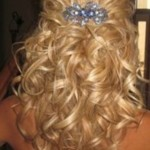 Half Up Half Down Prom Hairstyles Picture