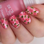 Pink Nail Art Ideas for 2014