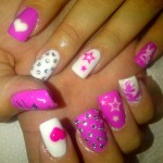 Pink Nail Art Ideas Picture