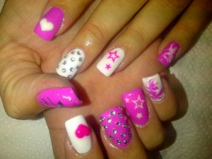 Pink Nail Design Ideas Picture