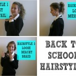 Quick And Easy Hairstyles For School Photo