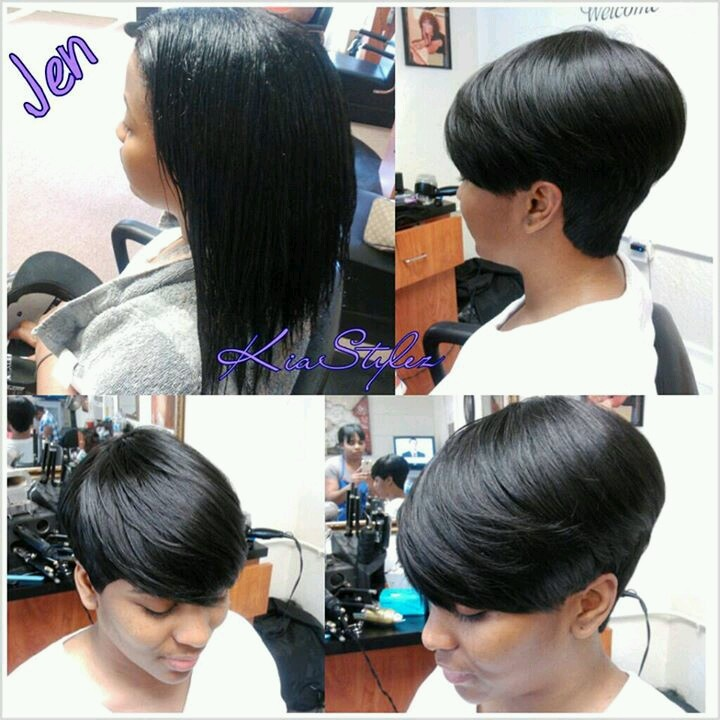Short Weave Hairstyles Design  Inkcloth - 27 Piece Quick Weave Hairstyles