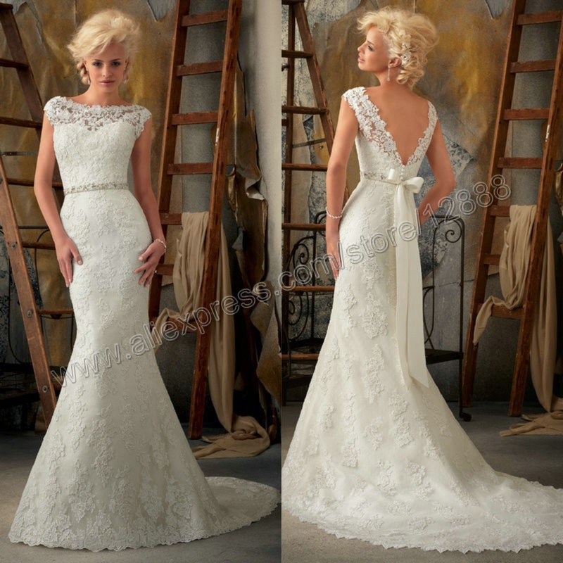 Wedding dress styles for short fat brides for Dress of wedding style